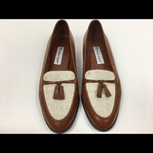 Etienne Aigner Ally Loafers brown size 9.5